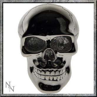 décoration -tête équipement du levier- Silver Skull Gear - U0485B4