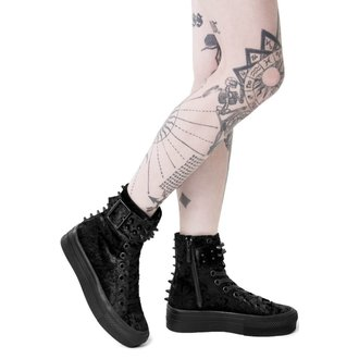 chaussures à semelles compensées pour femmes - UNHOLY HIGH TOPS - KILLSTAR, KILLSTAR