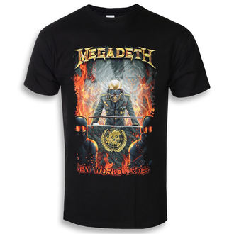 tee-shirt métal pour hommes Megadeth - NEW WORLD ORDER - PLASTIC HEAD, PLASTIC HEAD, Megadeth