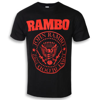 t-shirt de film pour hommes Rambo - FIRST BLOOD 1982 - PLASTIC HEAD, PLASTIC HEAD