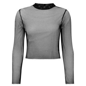 T-shirt à manches longues pour femmes KILLSTAR - Unruly Fishnet, KILLSTAR