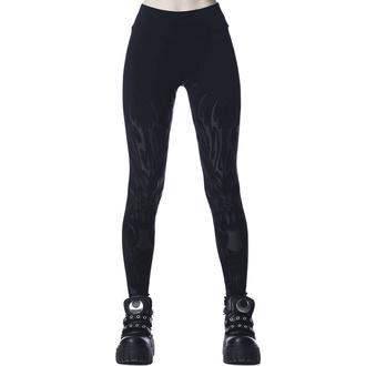 Pantalon pour femmes (leggings) KILLSTAR - Untamed - Noir, KILLSTAR