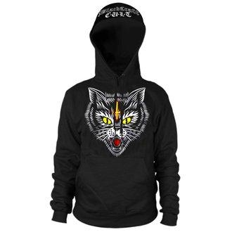 sweat-shirt avec capuche pour hommes - Hell Cat - BLACK CRAFT, BLACK CRAFT