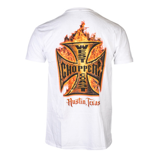 t-shirt pour hommes - IN FLAMES - West Coast Choppers, West Coast Choppers