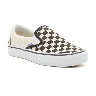 chaussures de tennis basses unisexe - MN Slip-On Pro (Checkerboard) - VANS, VANS