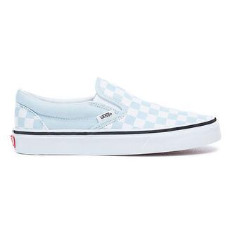 chaussures de tennis basses pour femmes - UA CLASSIC SLIP-ON (CHECKERBOA) - VANS, VANS