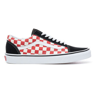 chaussures de tennis basses pour hommes - UA OLD SKOOL (checkerboard) - VANS, VANS