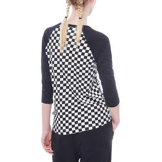 tee-shirt street pour femmes - WM CHECKS RAGLAN - VANS, VANS