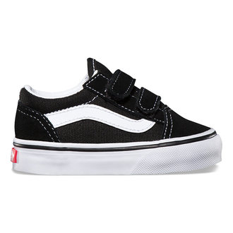 chaussures de tennis basses enfants - UY OLD SKOOL V Black/True White - VANS, VANS