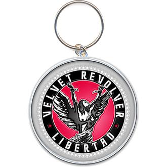 porte-clés - pendentif Velvet Revolver (Circle Logo) - ROCK OFF, ROCK OFF, Velvet Revolver