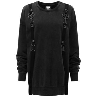 sweat-shirt sans capuche unisexe - Vicious Vintage-Wash - KILLSTAR - KSRA001916