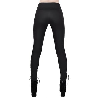 Pantalon pour femmes KILLSTAR - Viper Lace-Up, KILLSTAR