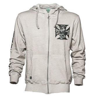 sweat-shirt avec capuche pour hommes - CASH ONLY - West Coast Choppers, West Coast Choppers