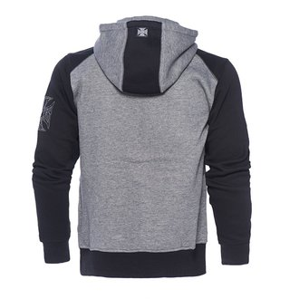 sweat-shirt avec capuche pour hommes - OG CROSS - West Coast Choppers, West Coast Choppers