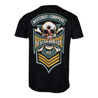t-shirt pour hommes - HIPSTER HUNTERS - West Coast Choppers, West Coast Choppers