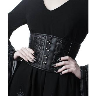 Ceinture (corset) KILLSTAR - Webutant Waist Cincher - NOIR, KILLSTAR