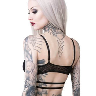 Soutien-gorge KILLSTAR - WEEPING WIDOW - NOIR, KILLSTAR