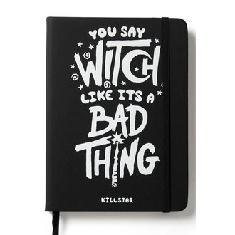 Bloc-notes KILLSTAR - WHO'S BAD JOURNAL - NOIR, KILLSTAR