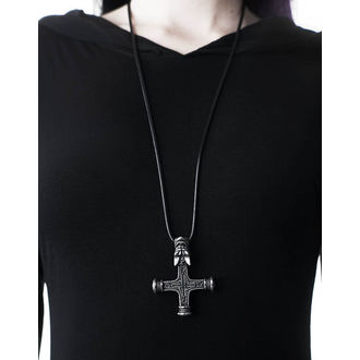 Collier KILLSTAR - Wolfcross - ARGENT, KILLSTAR