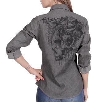 chemise pour femmes HYRAW - CHEMISE SKULLZ, HYRAW