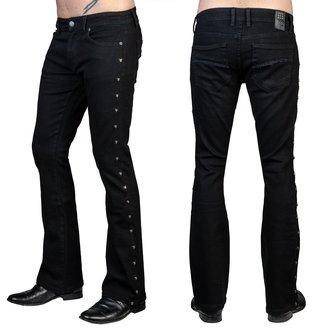 Pantalon (jeans) pour homme WORNSTAR - Gauntlet Skull - Noir, WORNSTAR
