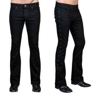 Pantalon pour homme (jeans) WORNSTAR - Gauntlet - Noir, WORNSTAR