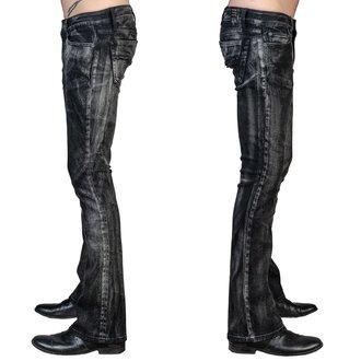 Jeans pour homme WORNSTAR - Hellraiser Smoke - Noir, WORNSTAR