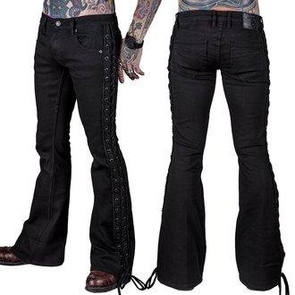 Jeans  hommesWORNSTAR - Starchaser - Black Denim Flare Cut  - Noir, WORNSTAR