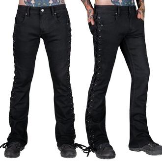 Pour des hommes jeans WORNSTAR - Hellraiser - Noir toile - Noir, WORNSTAR