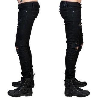 Jeans pour homme WORNSTAR - Rampager Shredded - Noir, WORNSTAR