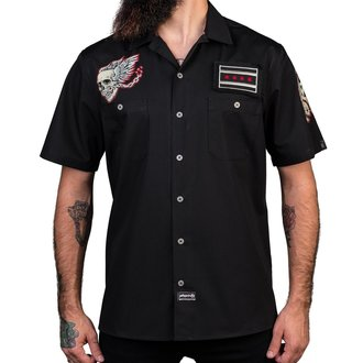 Chemise pour hommes WORNSTAR - Screaming Eagle - Noir, WORNSTAR