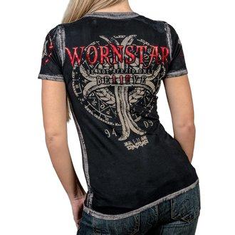 t-shirt hardcore pour femmes - Believe - WORNSTAR, WORNSTAR