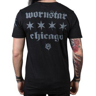 t-shirt hardcore pour hommes - Chicago Core - WORNSTAR, WORNSTAR