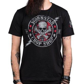 t-shirt hardcore pour hommes - Electric - WORNSTAR, WORNSTAR