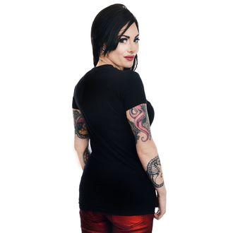 tee-shirt gothic et punk pour femmes - GRAVE ROBBER ZOMBIE XMAS VS HALLOWEEN BABYDOLL CHR, TOO FAST