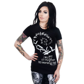 tee-shirt gothic et punk pour femmes - BABYDOLL - TOO FAST, TOO FAST