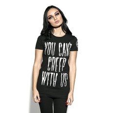 t-shirt pour femmes - You Can't Creep With Us - BLACK CRAFT, BLACK CRAFT