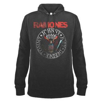 sweat-shirt avec capuche pour hommes Ramones - AMPLIFIED - AMPLIFIED, AMPLIFIED, Ramones