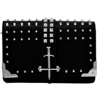 sac à main (sac) KILLSTAR - Zeva Shoulder - Noir, KILLSTAR