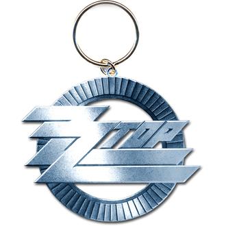 porte-clés - pendentif ZZ Top (Circle Logo) - ROCK OFF, ROCK OFF, ZZ-Top