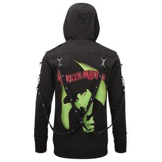 Sweat à capuche Unisexe KILLSTAR - Marilyn Manson - Les odeurs Comme Manson - Noir, KILLSTAR, Marilyn Manson