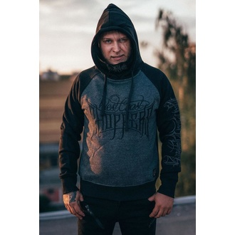 sweat-shirt avec capuche pour hommes - THE HOOLIGAN - West Coast Choppers, West Coast Choppers