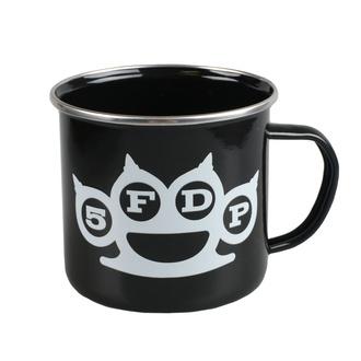 Mug émail  Five Finger Death Punch - Knuckle And Hand, NNM, Five Finger Death Punch