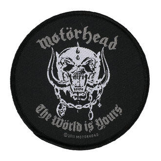 Patch  MOTORHEAD - THE WORLD IS YOURS - RAZAMATAZ, RAZAMATAZ, Motörhead