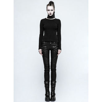 Pantalon femmes PUNK RAVE - K-297 Mantrap leather, PUNK RAVE