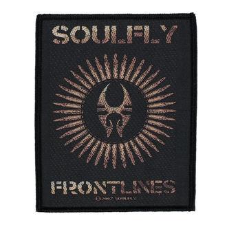 Patch SOULFLY - FRONTLINES - RAZAMATAZ, RAZAMATAZ, Soulfly
