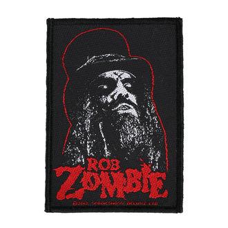 Patch ROB ZOMBIE - PORTRAIT - RAZAMATAZ, RAZAMATAZ, Rob Zombie