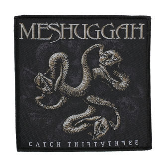Patch MESHUGGAH - CATCH 33 - RAZAMATAZ, RAZAMATAZ, Meshuggah