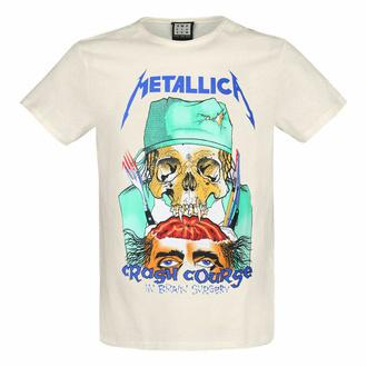 t-shirt pour homme METALLICA - CRASH COURSE - VINTAGE BLANC - AMPLIFIED, AMPLIFIED, Metallica