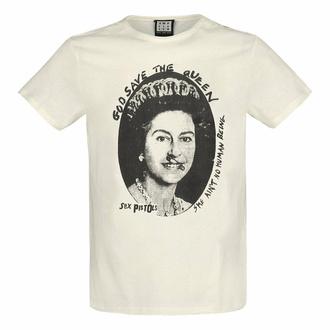 t-shirt pour homme SEX PISTOLS - GOD Save THE QUEEN - VINTAGE BLANC - AMPLIFIED, AMPLIFIED, Sex Pistols